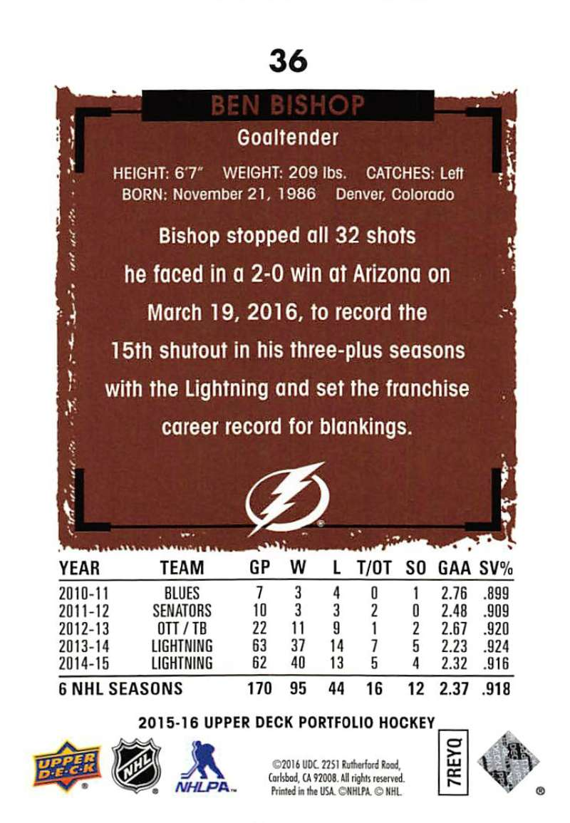 2015-16-Upper-Deck-Portfolio-Hockey-Cards-Pick-From-List-1-250-Includes-Rookies thumbnail 69