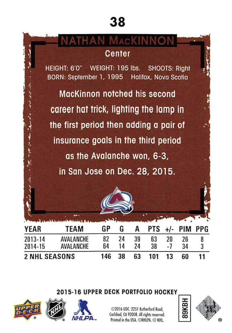 2015-16-Upper-Deck-Portfolio-Hockey-Cards-Pick-From-List-1-250-Includes-Rookies thumbnail 73