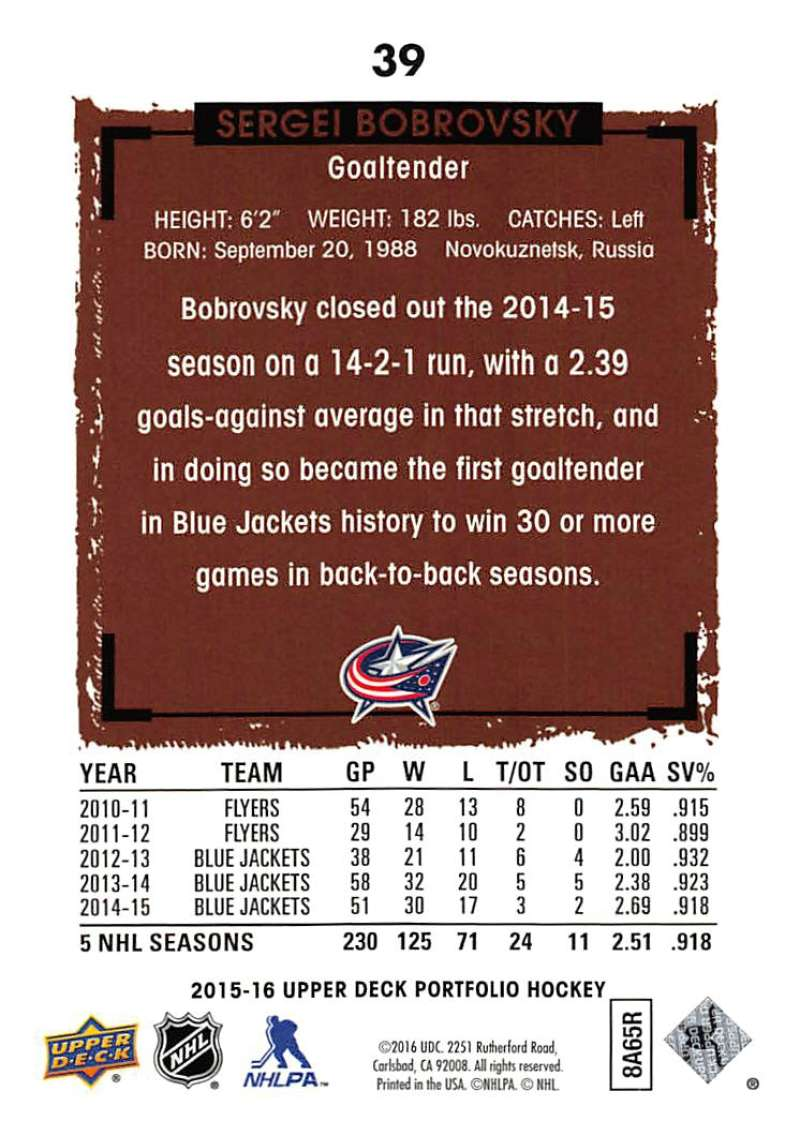 2015-16-Upper-Deck-Portfolio-Hockey-Cards-Pick-From-List-1-250-Includes-Rookies thumbnail 75