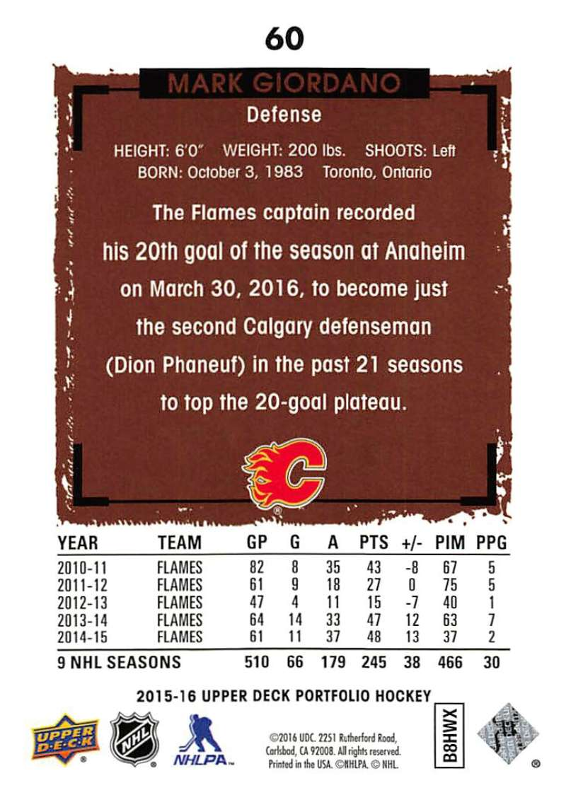 2015-16-Upper-Deck-Portfolio-Hockey-Cards-Pick-From-List-1-250-Includes-Rookies thumbnail 113