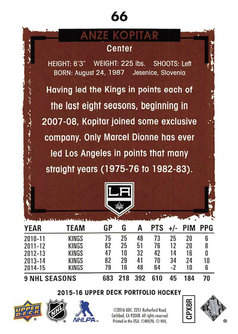 2015-16-Upper-Deck-Portfolio-Hockey-Cards-Pick-From-List-1-250-Includes-Rookies thumbnail 125