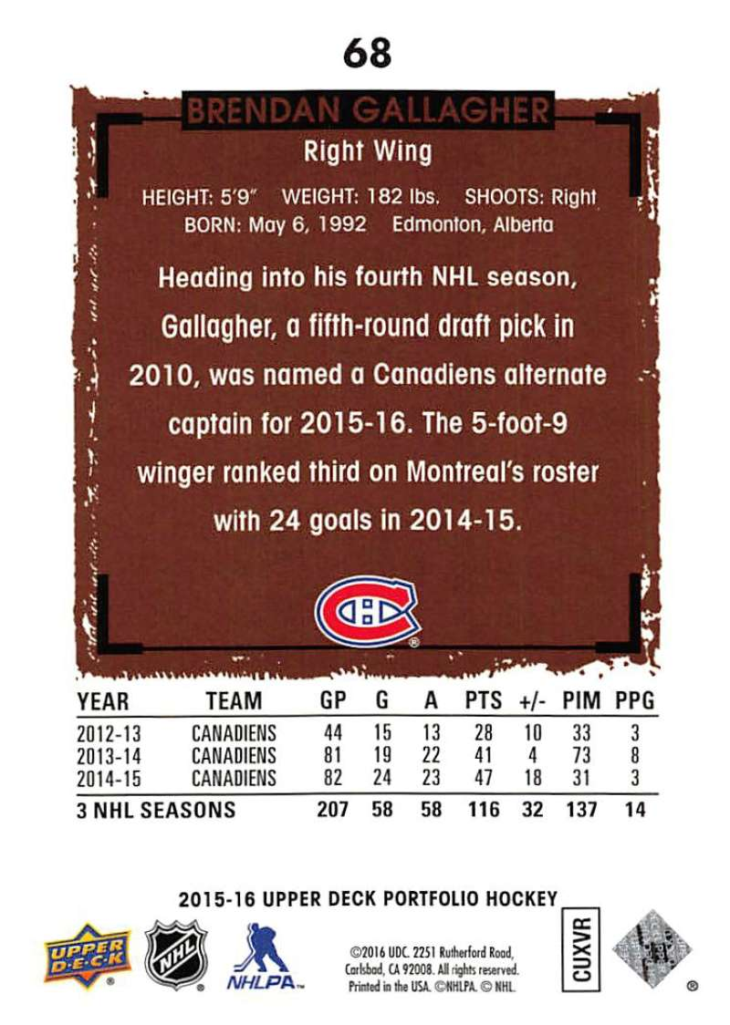 2015-16-Upper-Deck-Portfolio-Hockey-Cards-Pick-From-List-1-250-Includes-Rookies thumbnail 129