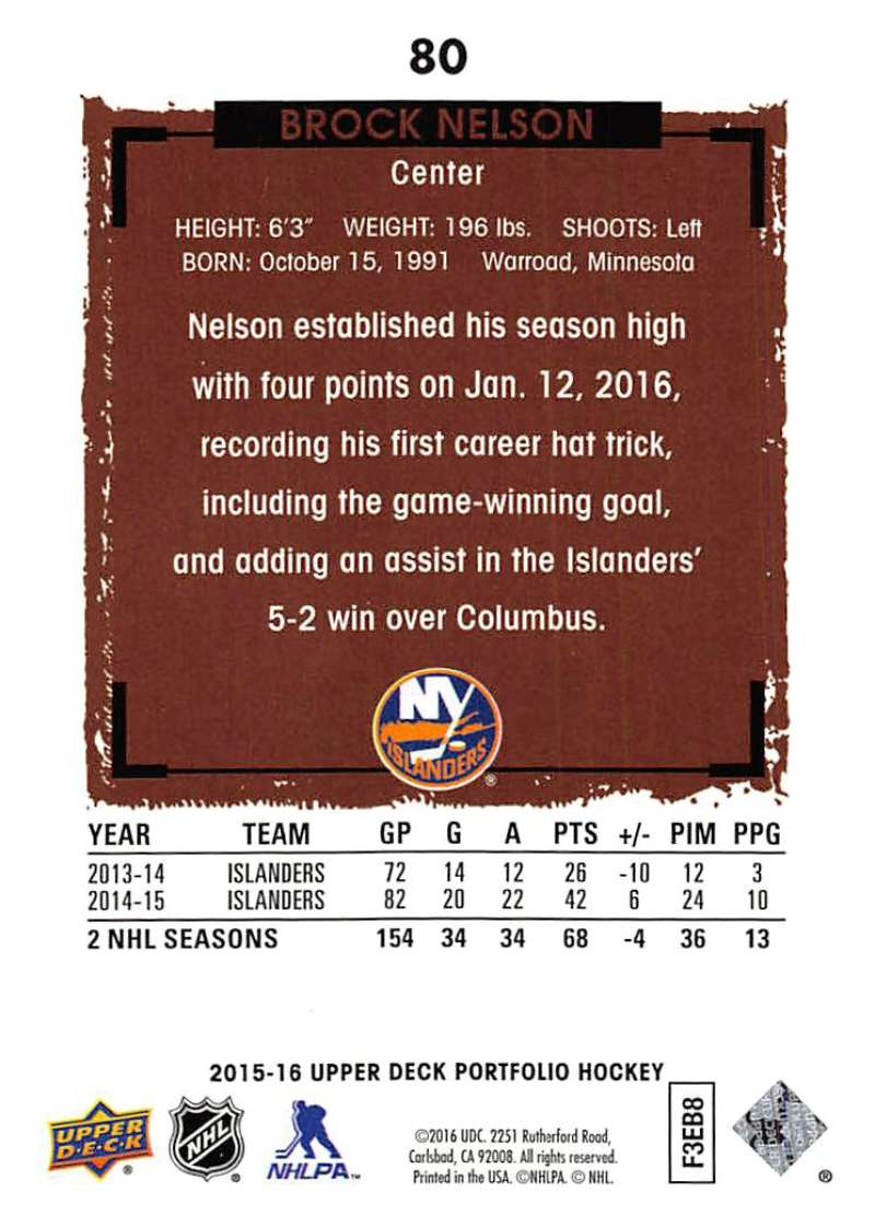 2015-16-Upper-Deck-Portfolio-Hockey-Cards-Pick-From-List-1-250-Includes-Rookies thumbnail 153
