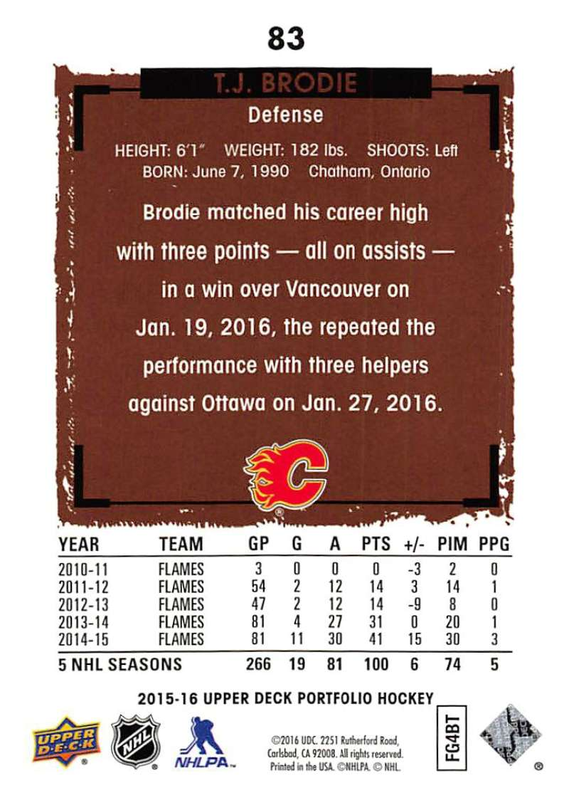2015-16-Upper-Deck-Portfolio-Hockey-Cards-Pick-From-List-1-250-Includes-Rookies thumbnail 159