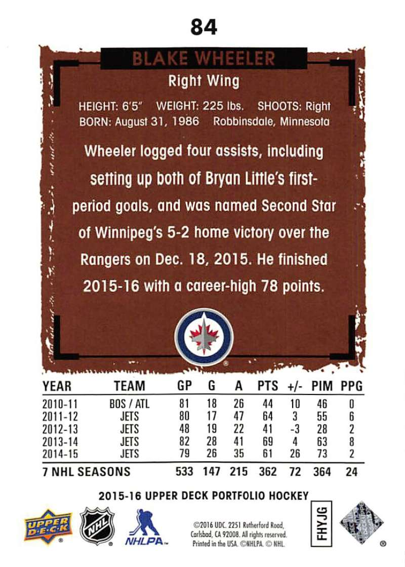 2015-16-Upper-Deck-Portfolio-Hockey-Cards-Pick-From-List-1-250-Includes-Rookies thumbnail 161