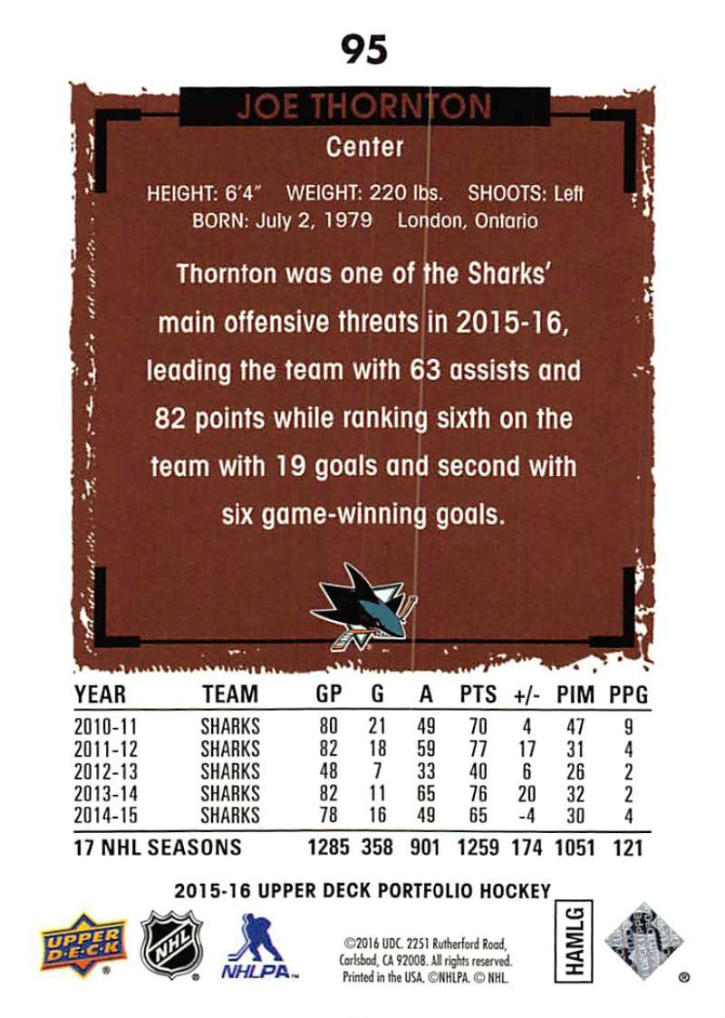 2015-16-Upper-Deck-Portfolio-Hockey-Cards-Pick-From-List-1-250-Includes-Rookies thumbnail 183