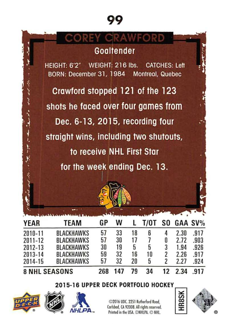 2015-16-Upper-Deck-Portfolio-Hockey-Cards-Pick-From-List-1-250-Includes-Rookies thumbnail 189