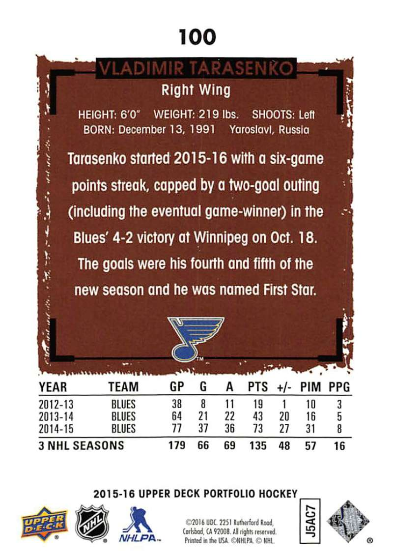 2015-16-Upper-Deck-Portfolio-Hockey-Cards-Pick-From-List-1-250-Includes-Rookies thumbnail 191