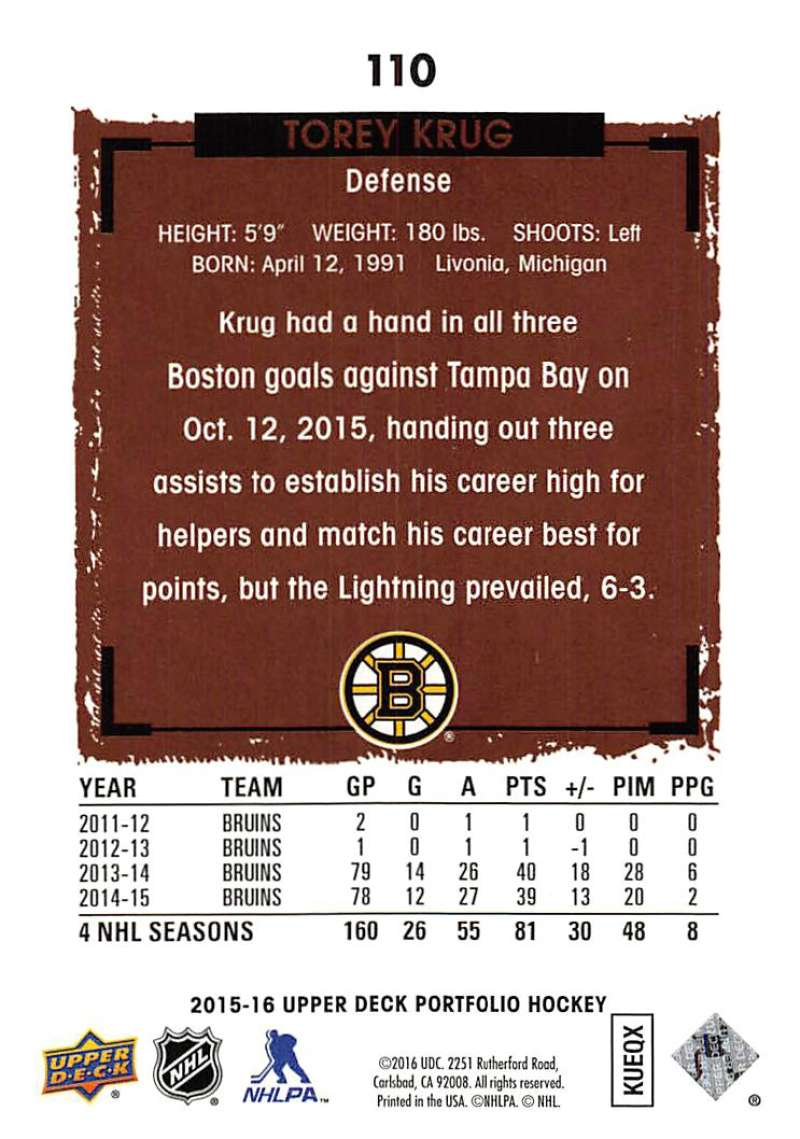 2015-16-Upper-Deck-Portfolio-Hockey-Cards-Pick-From-List-1-250-Includes-Rookies thumbnail 205