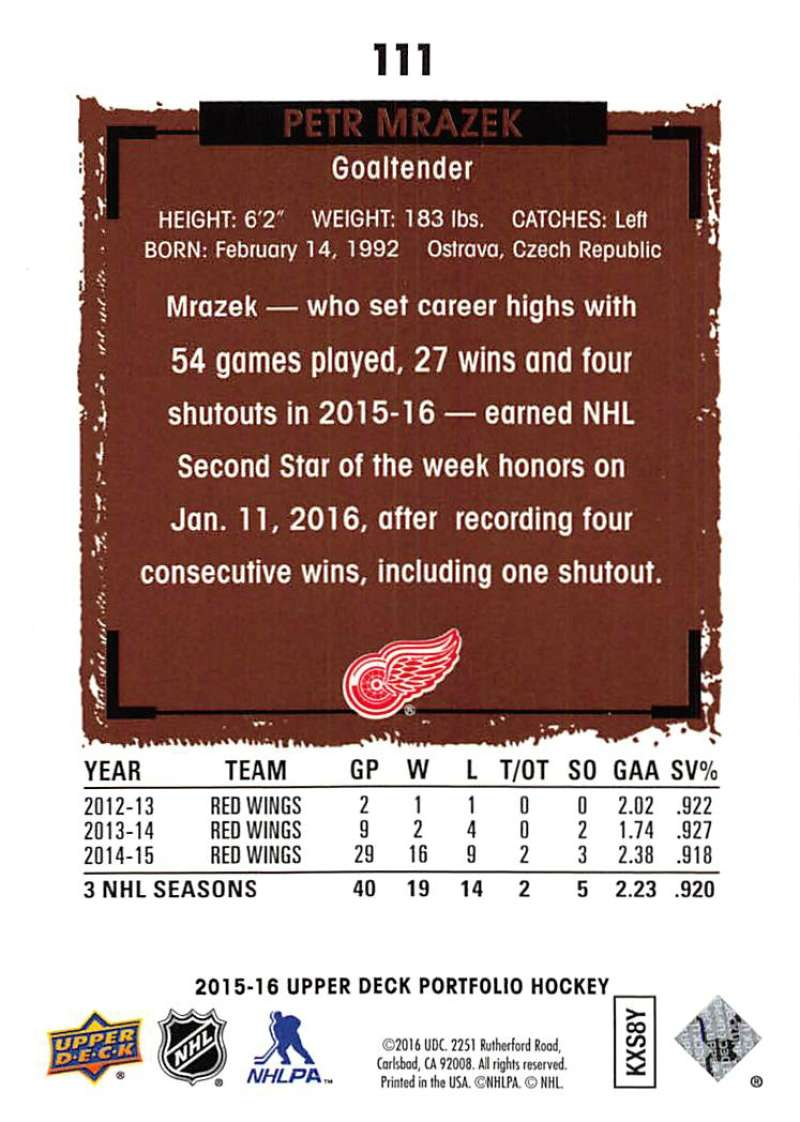 2015-16-Upper-Deck-Portfolio-Hockey-Cards-Pick-From-List-1-250-Includes-Rookies thumbnail 207
