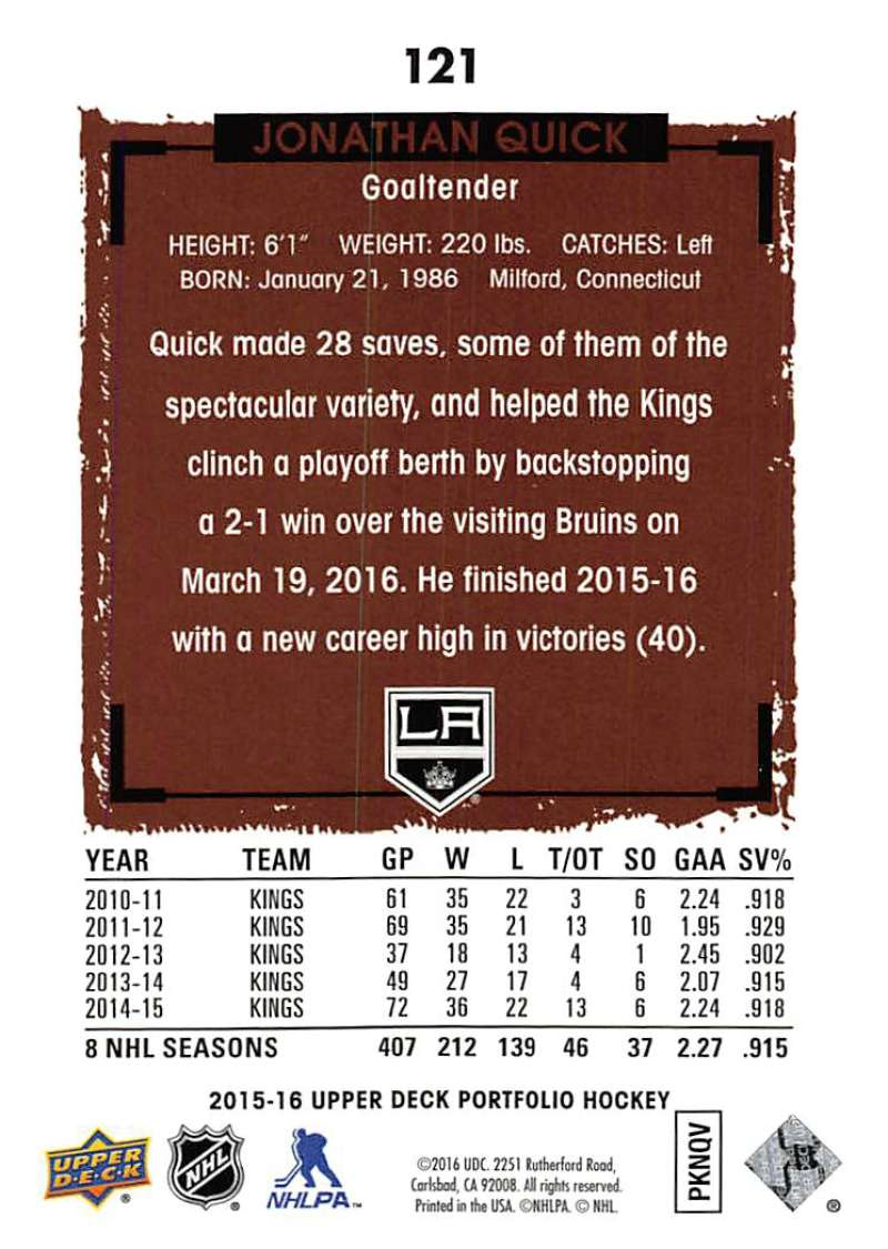 2015-16-Upper-Deck-Portfolio-Hockey-Cards-Pick-From-List-1-250-Includes-Rookies thumbnail 227