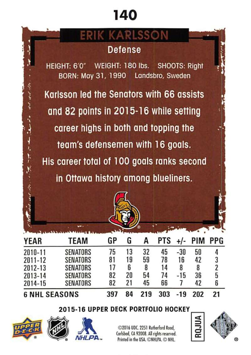 2015-16-Upper-Deck-Portfolio-Hockey-Cards-Pick-From-List-1-250-Includes-Rookies thumbnail 265