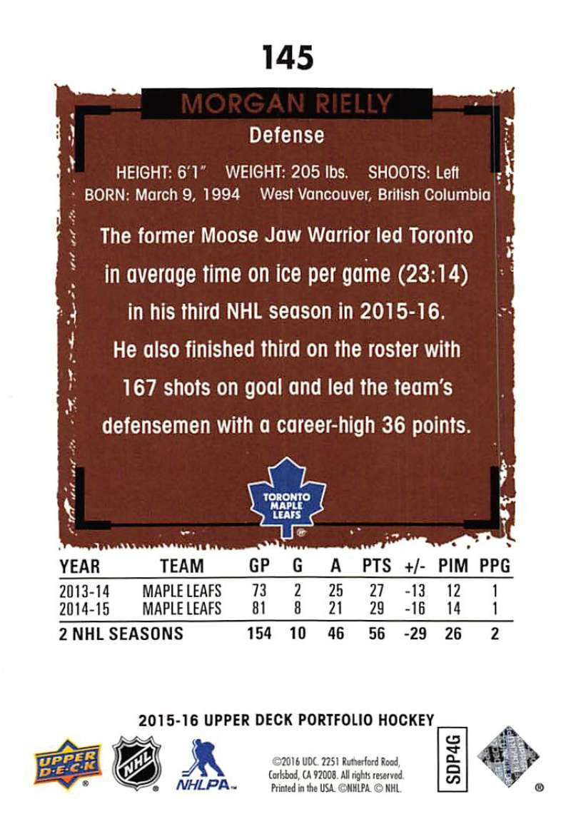 2015-16-Upper-Deck-Portfolio-Hockey-Cards-Pick-From-List-1-250-Includes-Rookies thumbnail 275