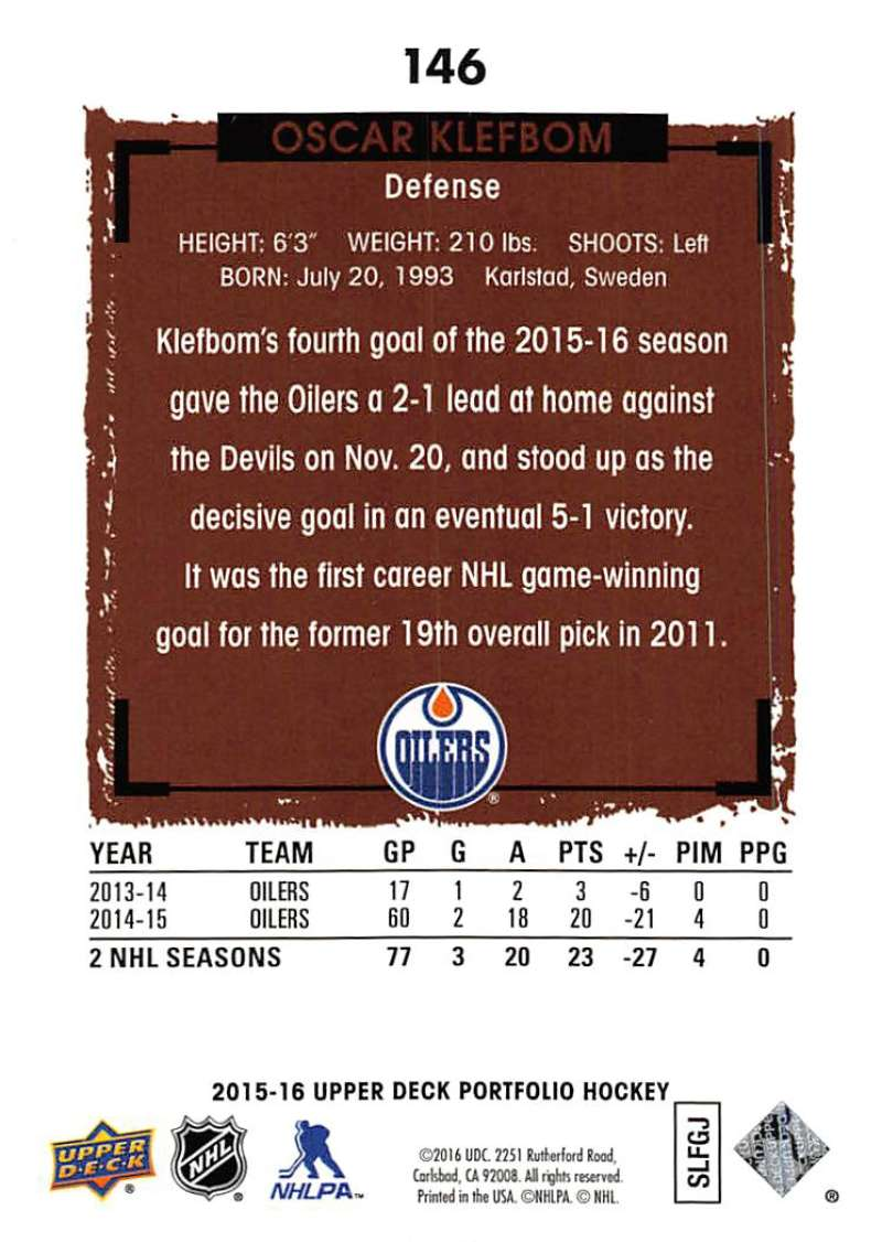 2015-16-Upper-Deck-Portfolio-Hockey-Cards-Pick-From-List-1-250-Includes-Rookies thumbnail 277