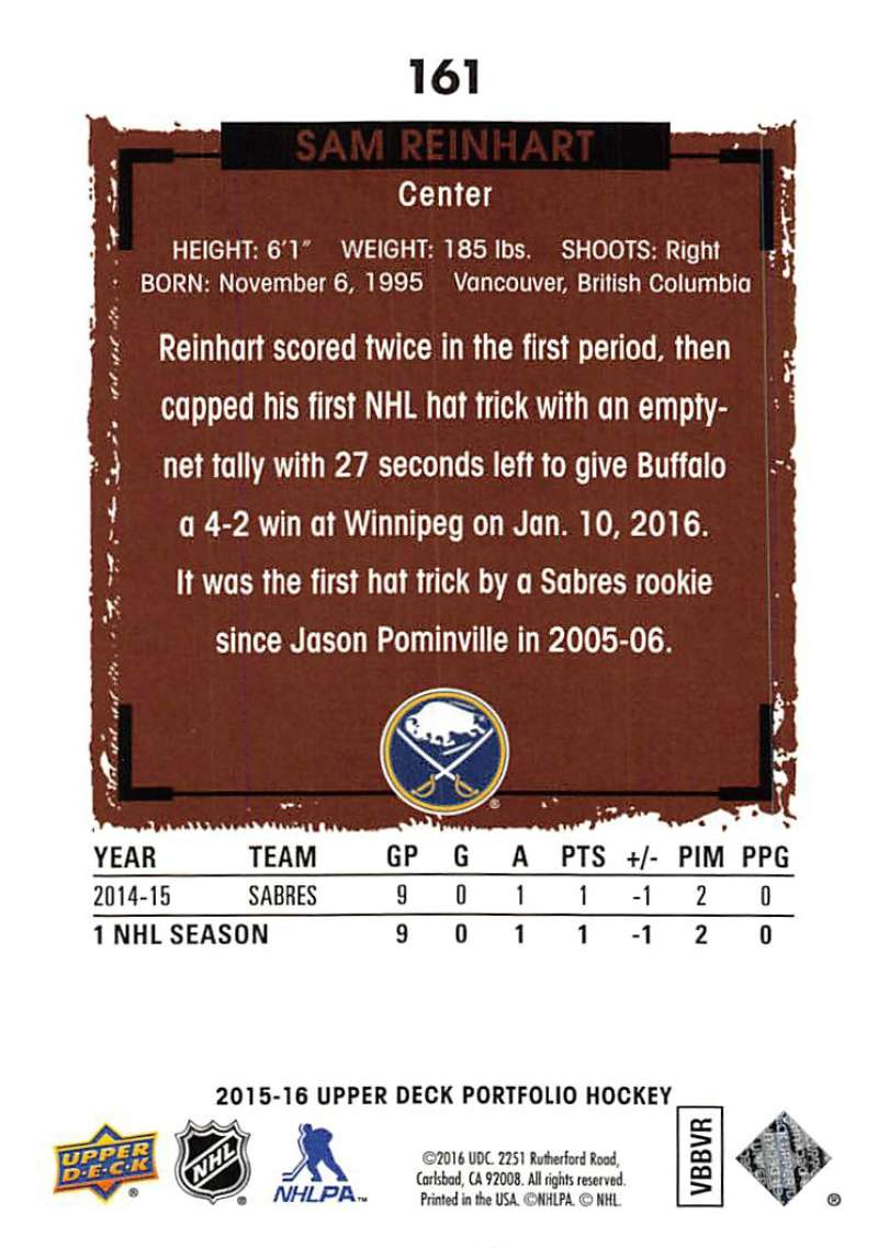 2015-16-Upper-Deck-Portfolio-Hockey-Cards-Pick-From-List-1-250-Includes-Rookies thumbnail 307
