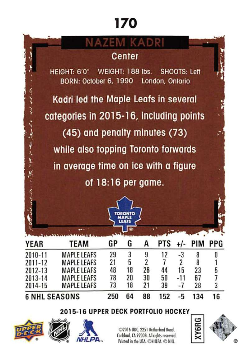 2015-16-Upper-Deck-Portfolio-Hockey-Cards-Pick-From-List-1-250-Includes-Rookies thumbnail 321