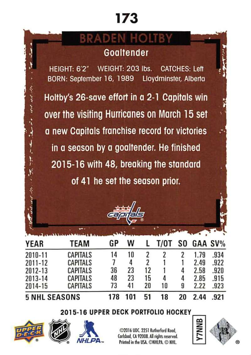 2015-16-Upper-Deck-Portfolio-Hockey-Cards-Pick-From-List-1-250-Includes-Rookies thumbnail 327