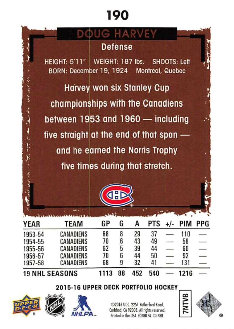 2015-16-Upper-Deck-Portfolio-Hockey-Cards-Pick-From-List-1-250-Includes-Rookies thumbnail 357