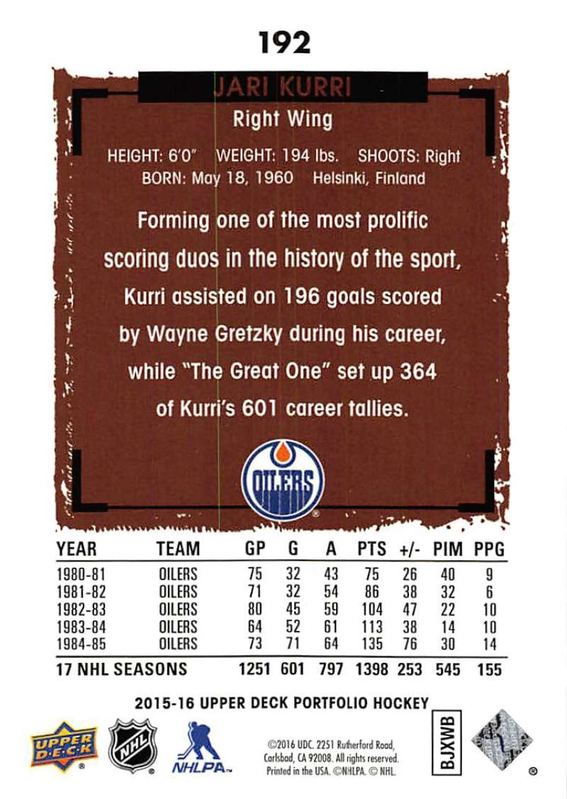 2015-16-Upper-Deck-Portfolio-Hockey-Cards-Pick-From-List-1-250-Includes-Rookies thumbnail 361