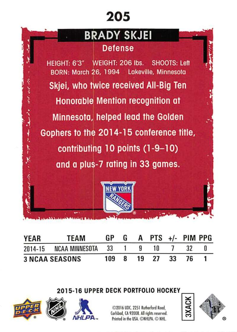 2015-16-Upper-Deck-Portfolio-Hockey-Cards-Pick-From-List-1-250-Includes-Rookies thumbnail 387