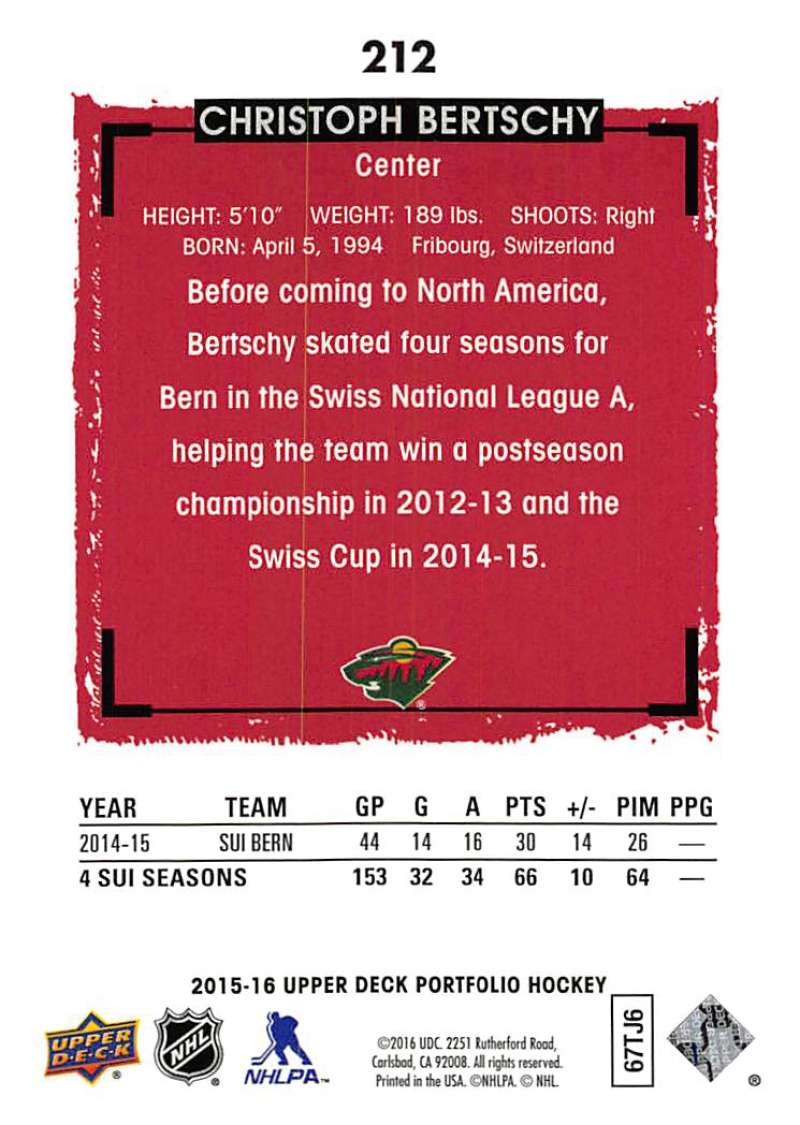 2015-16-Upper-Deck-Portfolio-Hockey-Cards-Pick-From-List-1-250-Includes-Rookies thumbnail 401