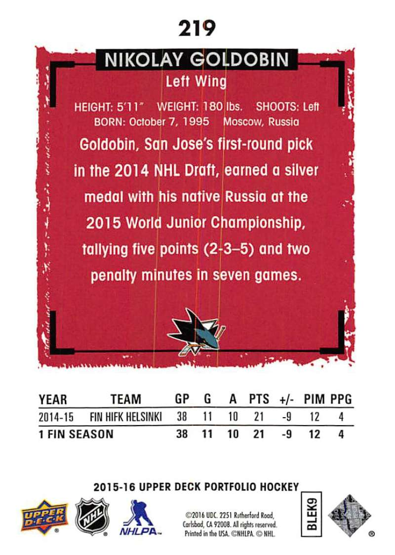 2015-16-Upper-Deck-Portfolio-Hockey-Cards-Pick-From-List-1-250-Includes-Rookies thumbnail 411