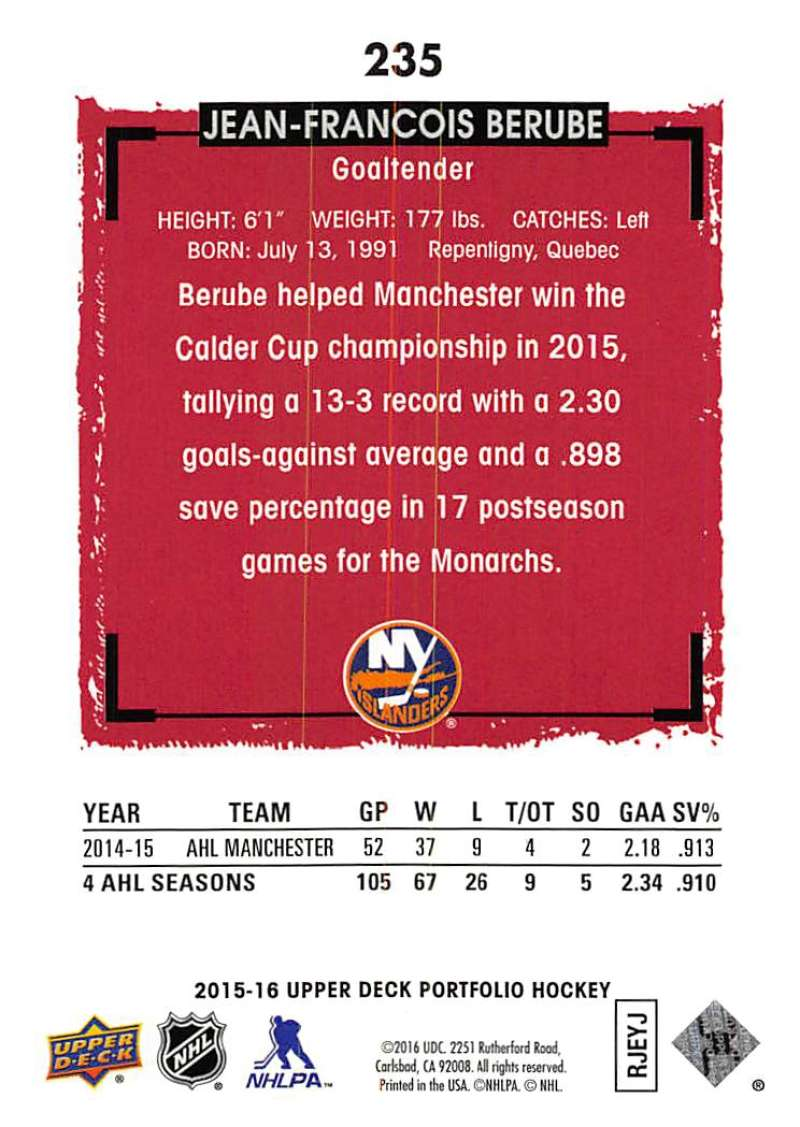 2015-16-Upper-Deck-Portfolio-Hockey-Cards-Pick-From-List-1-250-Includes-Rookies thumbnail 441