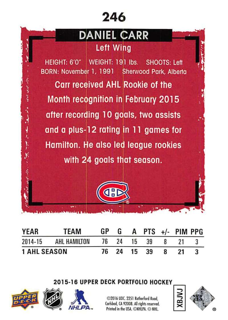 2015-16-Upper-Deck-Portfolio-Hockey-Cards-Pick-From-List-1-250-Includes-Rookies thumbnail 463