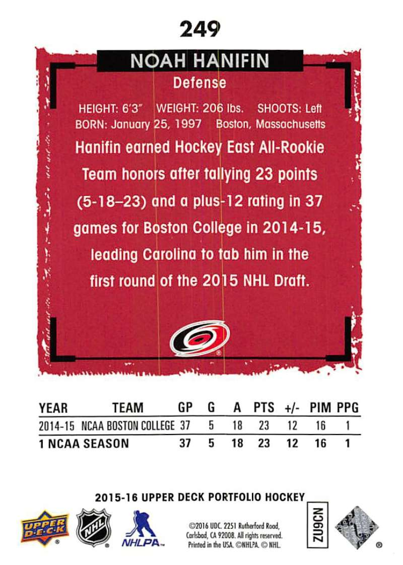 2015-16-Upper-Deck-Portfolio-Hockey-Cards-Pick-From-List-1-250-Includes-Rookies thumbnail 469