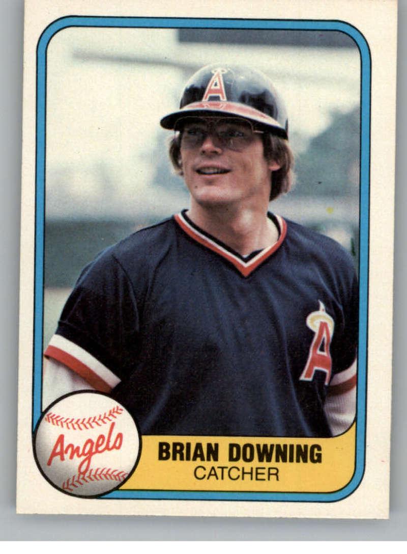 1981 Fleer #282 Brian Downing California Angels