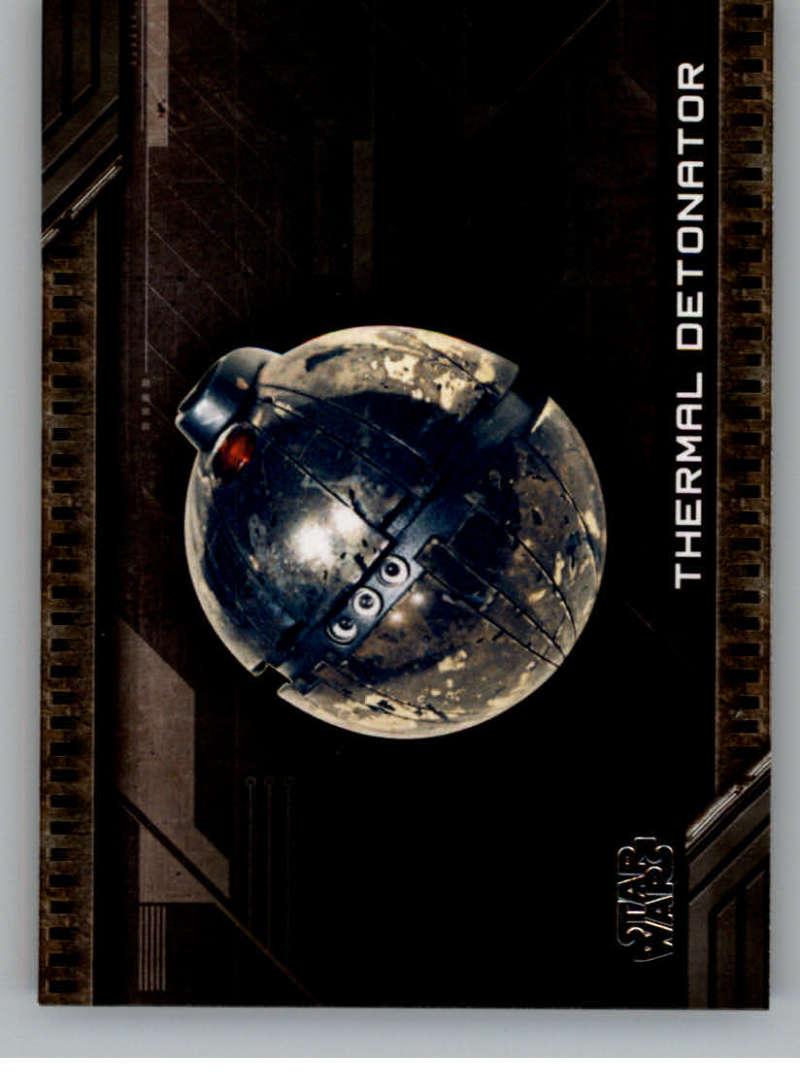 2017 Topps Star Wars Galactic Files Reborn Weapons #W-5 Thermal Detonator
