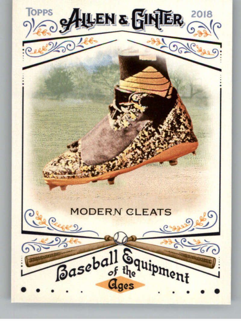2018 Allen and Ginter Baseball Baseball Equipment of the Ages #BEA-16 Modern Cleats