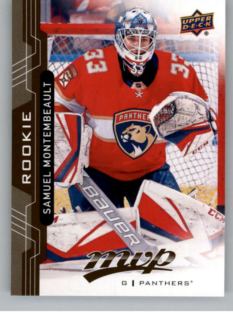 2018-19 UD MVP #244 Samuel Montembeault RC Rookie Card Florida Panthers Upper Deck 18-19 Hockey Card