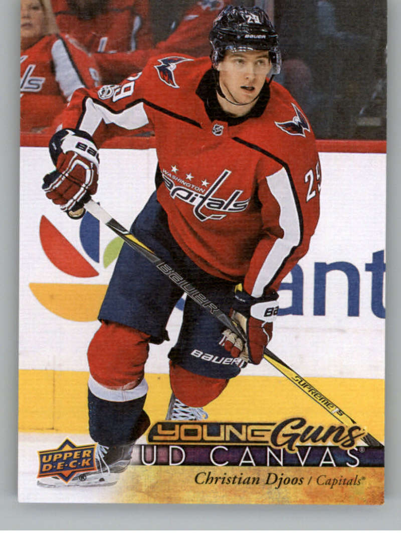 2017-18-Upper-Deck-Canvas-Series-Two-Cards-Pick-From-List-Includes-Young-Guns miniature 103