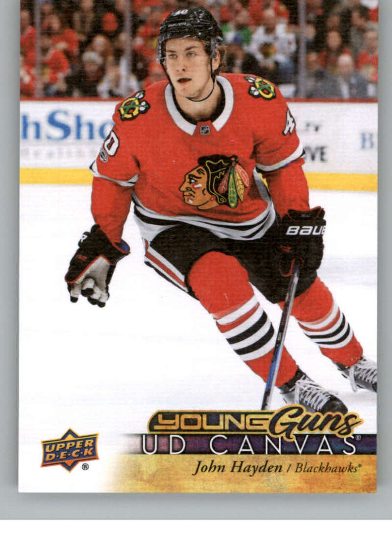 2017-18-Upper-Deck-Canvas-Series-Two-Cards-Pick-From-List-Includes-Young-Guns miniature 106