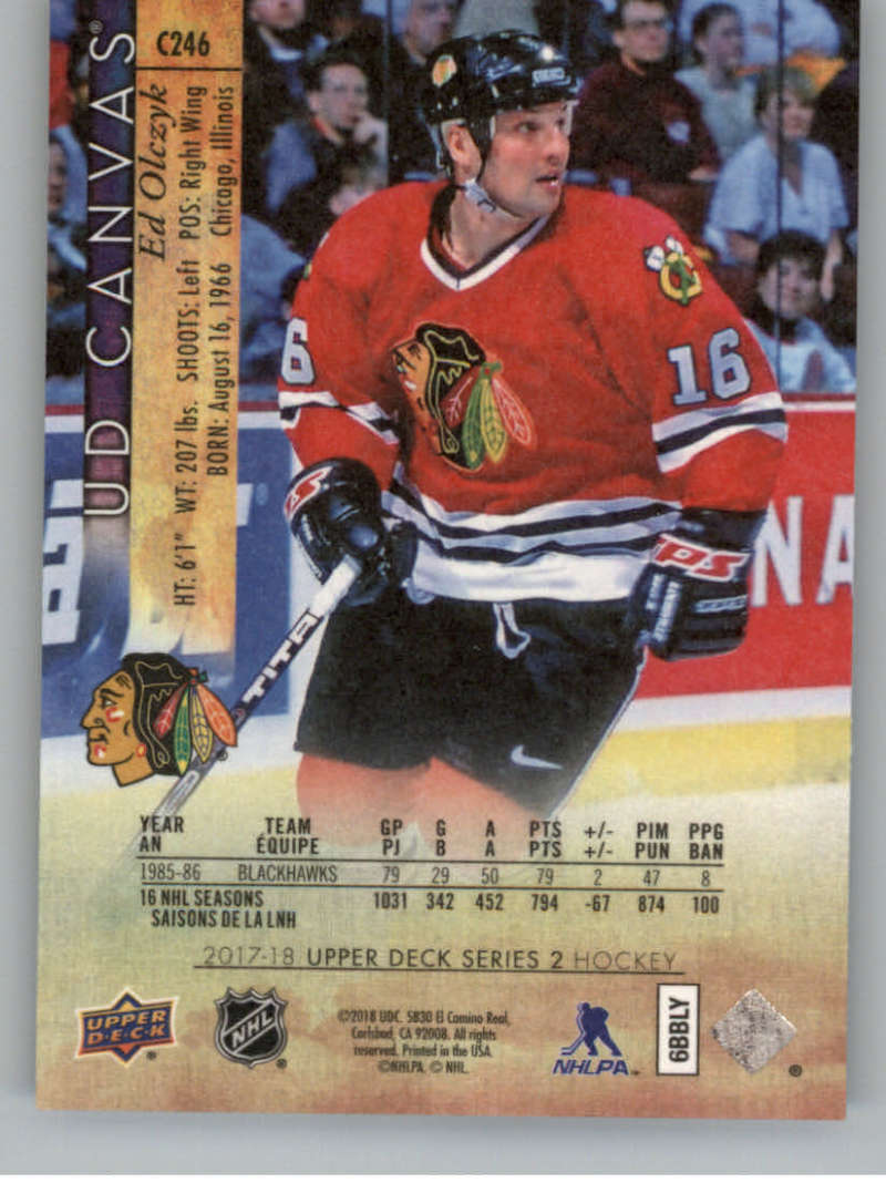 2017-18-Upper-Deck-Canvas-Series-Two-Cards-Pick-From-List-Includes-Young-Guns miniature 118