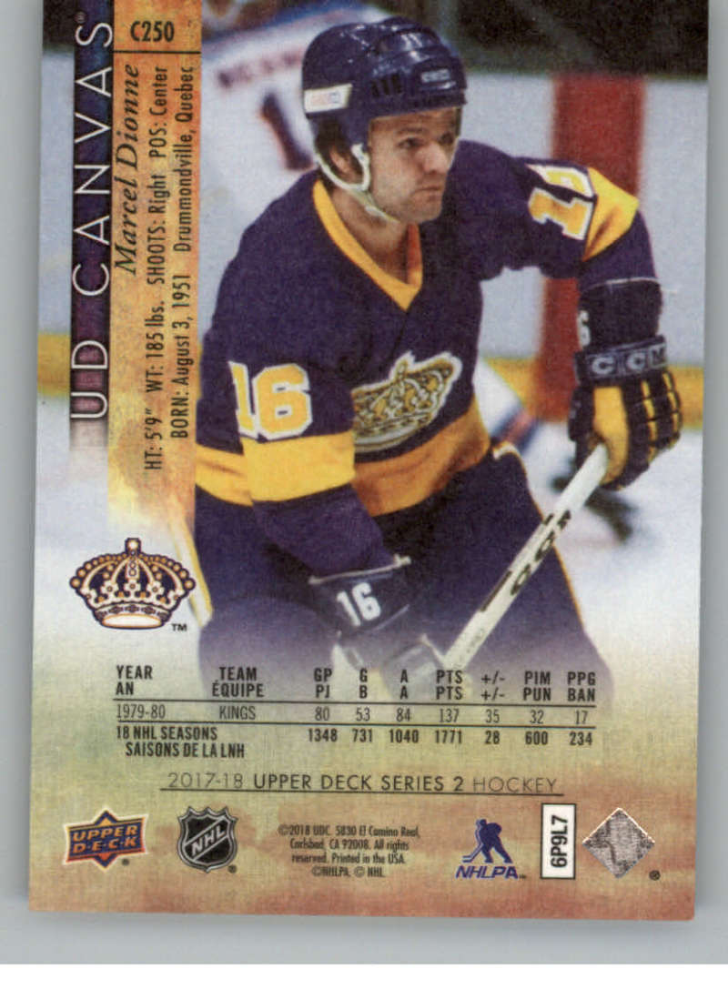 2017-18-Upper-Deck-Canvas-Series-Two-Cards-Pick-From-List-Includes-Young-Guns miniature 122