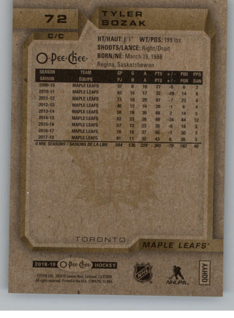 2018-19-O-Pee-Chee-Silver-Border-Parallel-Hockey-Cards-Pick-From-List-1-250 thumbnail 31