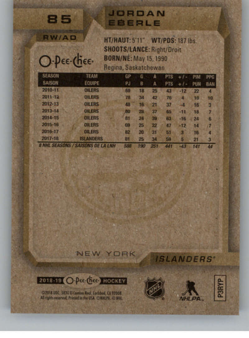 2018-19-O-Pee-Chee-Silver-Border-Parallel-Hockey-Cards-Pick-From-List-1-250 thumbnail 39