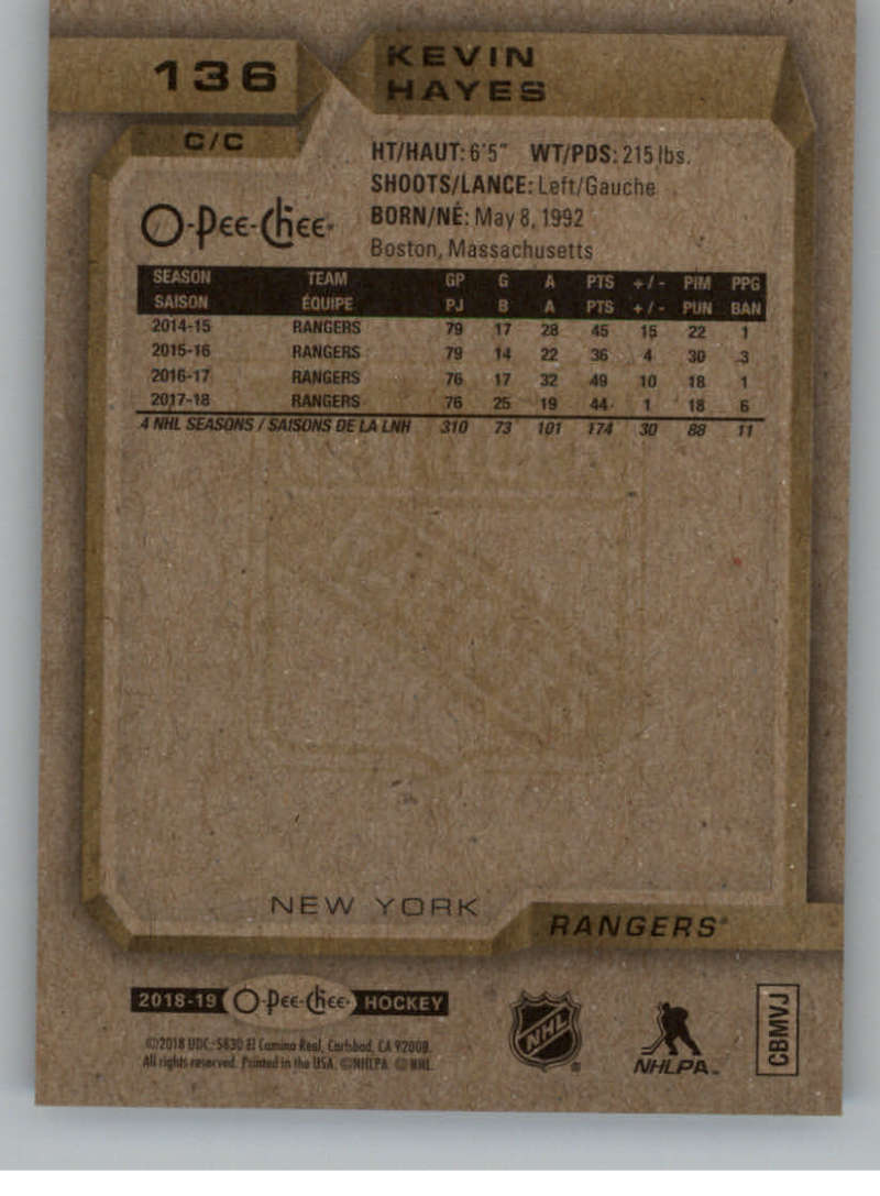 2018-19-O-Pee-Chee-Silver-Border-Parallel-Hockey-Cards-Pick-From-List-1-250 thumbnail 47