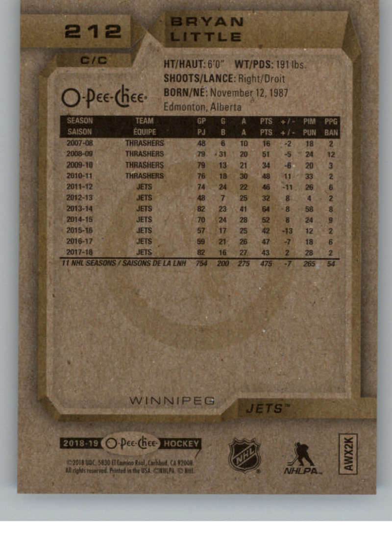 2018-19-O-Pee-Chee-Silver-Border-Parallel-Hockey-Cards-Pick-From-List-1-250 thumbnail 77
