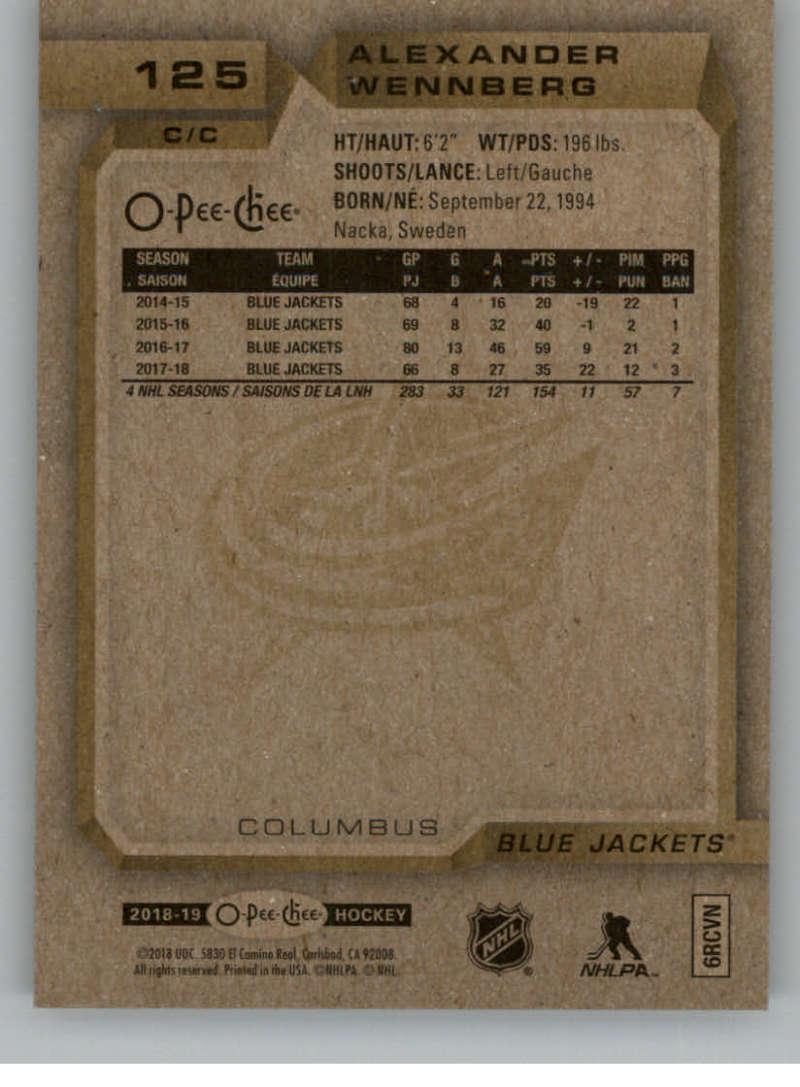 2018-19-O-Pee-Chee-Gold-Border-Glossy-Hockey-Cards-Pick-From-List-1-250 thumbnail 17