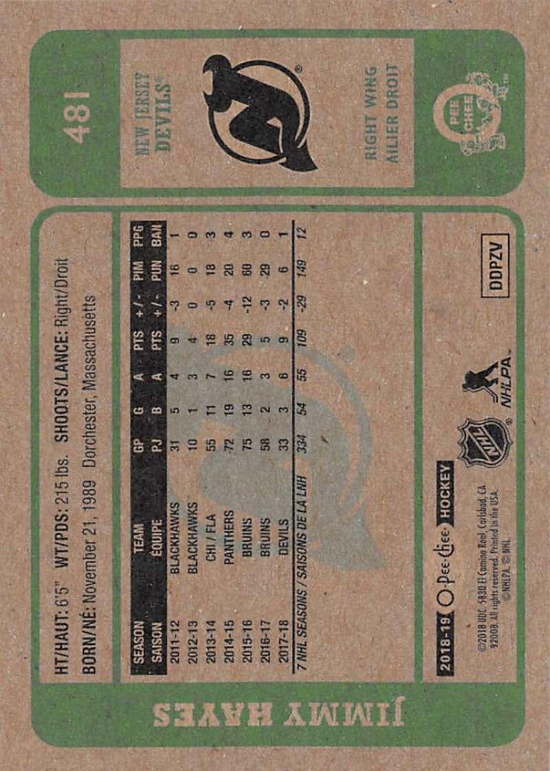 2018-19-O-Pee-Chee-Retro-Hockey-Cards-Pick-From-List-251-500 thumbnail 303