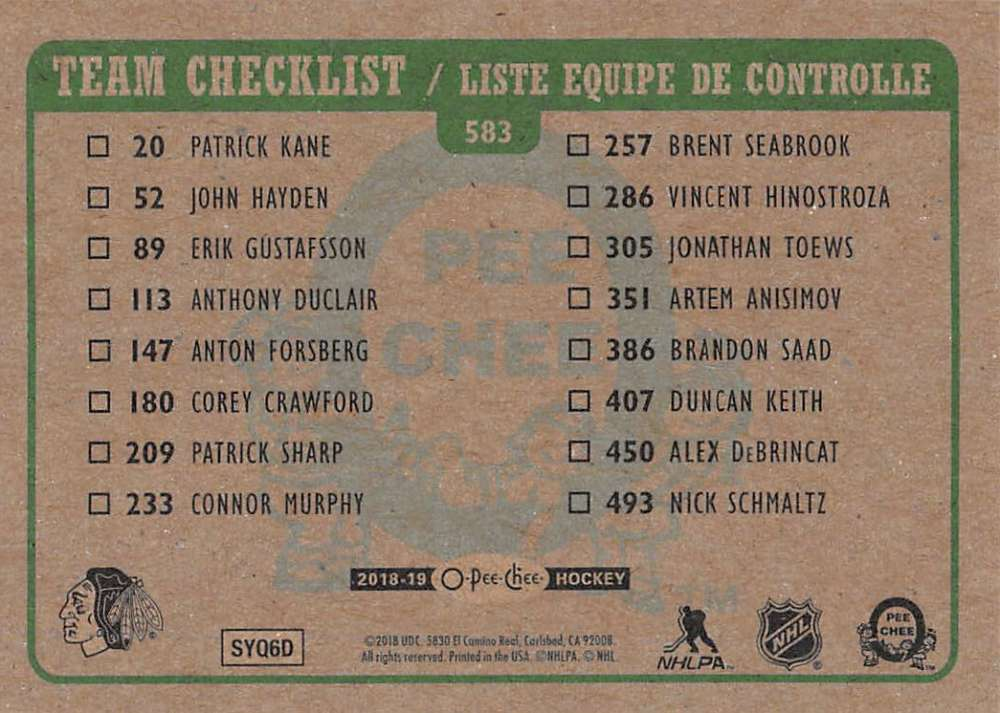 2018-19-O-Pee-Chee-Retro-Hockey-Cards-Pick-From-List-501-and-Above-Rookies thumbnail 129