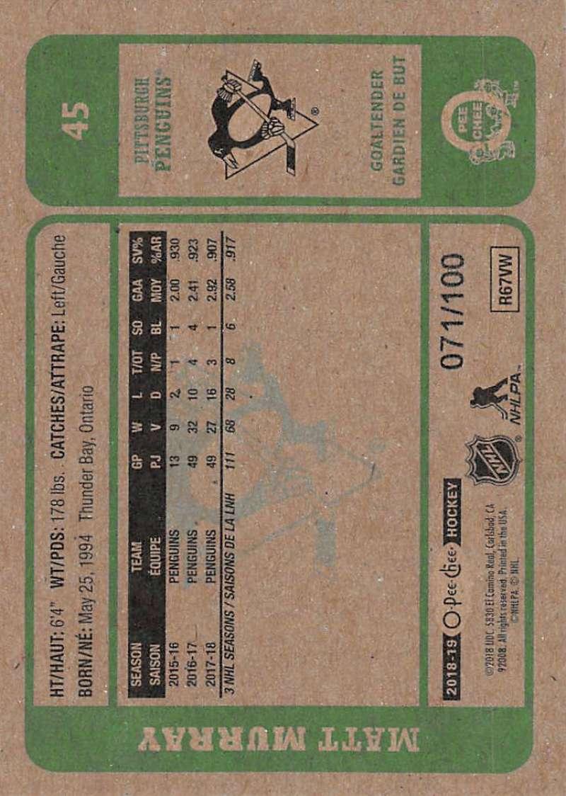 2018-19-O-Pee-Chee-Retro-Black-Border-Hockey-Cards-Pick-From-List-1-250-100 thumbnail 9