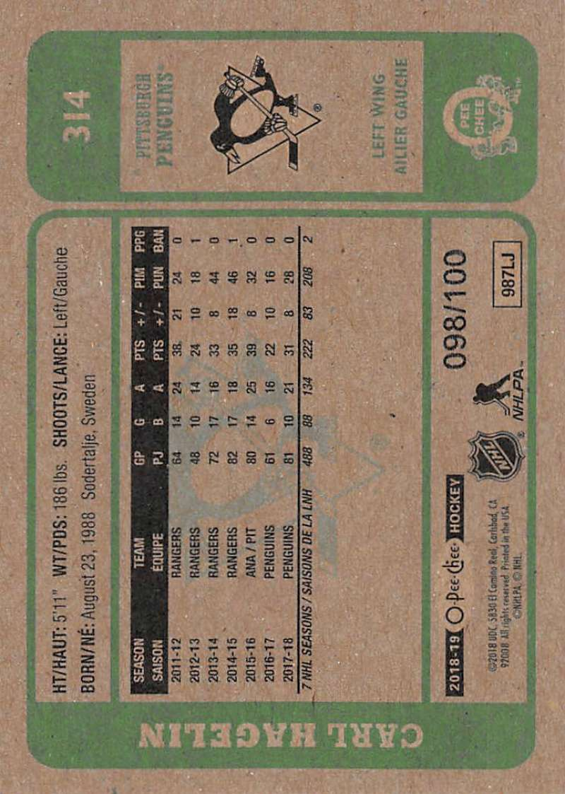 2018-19-O-Pee-Chee-Retro-Black-Border-Hockey-Cards-Pick-From-List-251-500-100 thumbnail 9