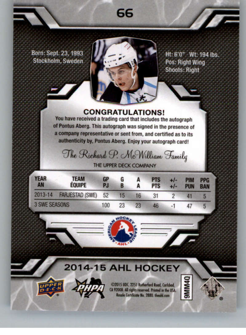 2014-15-Upper-Deck-AHL-Autographs-Stickers-Patch-Cards-Pick-From-List thumbnail 75