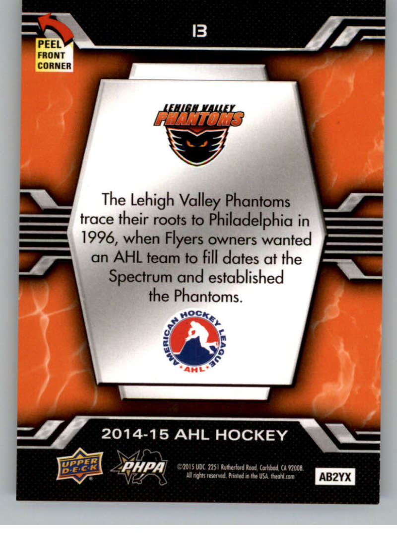 2014-15-Upper-Deck-AHL-Autographs-Stickers-Patch-Cards-Pick-From-List thumbnail 177