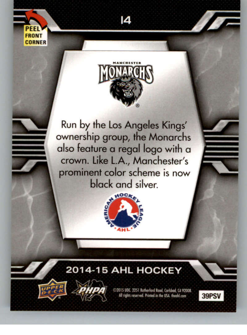 2014-15-Upper-Deck-AHL-Autographs-Stickers-Patch-Cards-Pick-From-List thumbnail 183