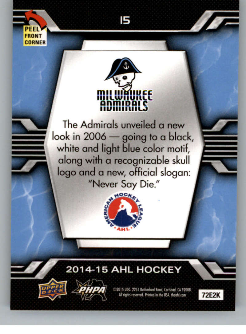 2014-15-Upper-Deck-AHL-Autographs-Stickers-Patch-Cards-Pick-From-List thumbnail 185